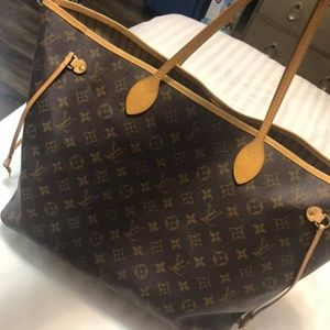 LV Neverfull W/ Pouch